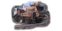 Мобильные бетонанососы средней мощности, 60-90 м3/час